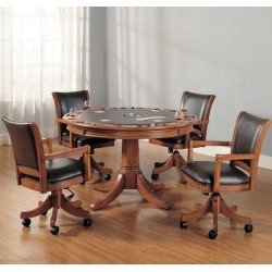 Hillsdale Furniture Park View Game Table, Shown in 5-Piece Set