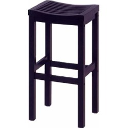 Home Styles 29 inch Wood Bar Stool with Square Seat and Black Finish found on Bargain Bro India from Kitchen Source for $60.83
