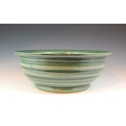 Vermont Art Sinks Underhill Handthrown Stoneware Sink, 14-1/2inch W x 4inch H, Seaweed found on Bargain Bro Philippines from Kitchen Source for $648.90