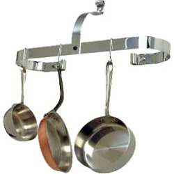 Enclume Stainless Steel Wall Mounted Oval Pot Rack
