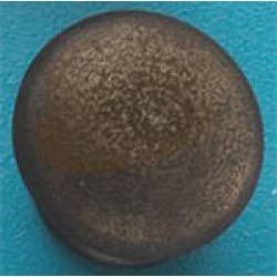 Hafele Bordeaux Iron Knob in Oil-Rubbed Bronze Bronze Finish, M4, 25X27MM