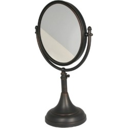 Allied Brass 8 Table Mirror, 2x Magnification, 17-23-1/2 H, Premium, Matte Black found on Bargain Bro India from Kitchen Source for $169.99