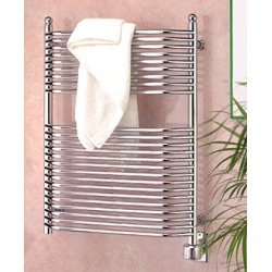 Wesaunard Chrome Eutopia Towel Warmer with Angled Rails 23-1/2 inchW x 29-1/2 inchH found on Bargain Bro India from Kitchen Source for $1996.50