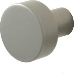 Allied Brass Designer 1 inch Cabinet Knob, Standard Finish, Polished Chrome