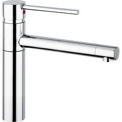 Augusta Kitchen Faucet, Chrome