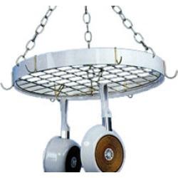 Blackhurst White Round Chain Pot Rack
