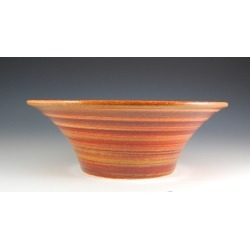 Vermont Art Sinks Liberty Handthrown Stoneware Sink, 14-1/2inch W x 6inch H, Carnival, Shown in Asian Lilly found on Bargain Bro India from Kitchen Source for $638.60