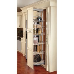 Rev-A-Shelf Compagnucci Glass 6 Shelf, 14-3/4 inch Wide Pullout Pantry found on Bargain Bro India from Kitchen Source for $1572.72