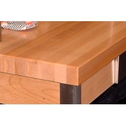 John Boos Maple Island Tops, 121W x 32D, Oil Finish found on Bargain Bro from Kitchen Source for USD $1,583.84