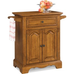 Home Styles Country Casual Small Kitchen Cart