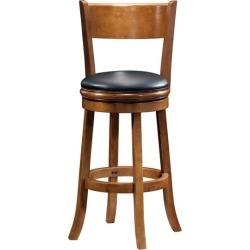 Boraam Industries 29inch inchPalmettoinch Bar Stool in Fruitwood Finish found on Bargain Bro India from Kitchen Source for $140.34