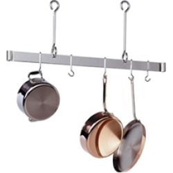 Enclume Copper Ceiling Mounted Bar Pot Rack 36 inch