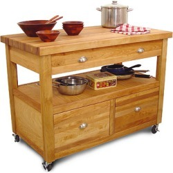 Catskill Craftsmen Grand Americana Kitchen Island