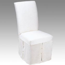 Danbury Imports Parsons Chair with Annabelle Cover, Skirted found on Bargain Bro India from Kitchen Source for $586.95
