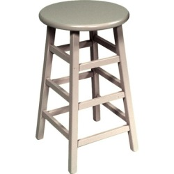 John Boos - Backless Wood Stool, 18 H, Alabaster found on Bargain Bro India from Kitchen Source for $109.95