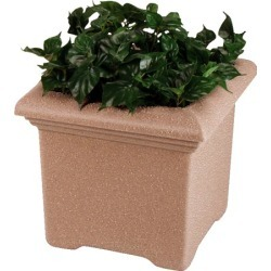 United Receptacle Tuscany Planter 36 inch W x 36 inch D x 27 inch H found on Bargain Bro from Kitchen Source for $1080.68