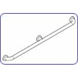 H?fele 36 Grab Bar with Center Support in Steel Blue found on Bargain Bro India from Kitchen Source for $291.52