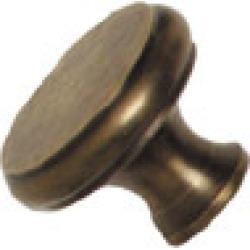 Nice solid brass knob, 1 1/2 inch diameter