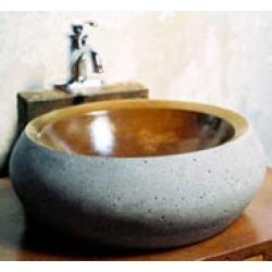J. Aaron Round Stone Vessel Sink in Standard Matte found on Bargain Bro Philippines from Kitchen Source for $810.00