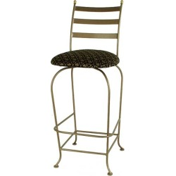 Grace Carolina Backed Bar Stool with Fabric Seat with Arms 30 inch found on Bargain Bro India from Kitchen Source for $411.84