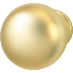 Hafele Matt Brass Knob, 31mm found on Bargain Bro Philippines from Kitchen Source for $2.47