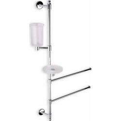 Wall Mounted Chrome Bathroom Butler, Chrome found on Bargain Bro India from Kitchen Source for $417.46