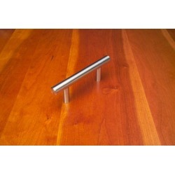 Arthur Harris 14 inch stainless steel bar pull, 1/2 inch diameter, hand finished found on Bargain Bro Philippines from Kitchen Source for $36.73