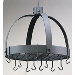 Old Dutch Graphite Dome Pot Rack with Grid