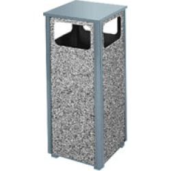 United Receptacle Aspen 2000 Series Litter Receptacle found on Bargain Bro from Kitchen Source for $331.50