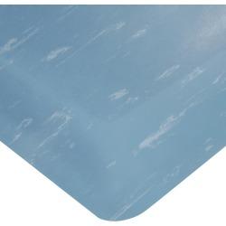 Wearwell Smart Tile Top UltraSoft Anti-Fatigue Mat, 3' x 5' x 7/8 Thick, Blue