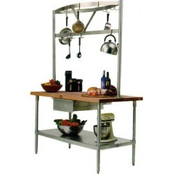John Boos Cucina Grandioso Kitchen Cart, 48in x 30in