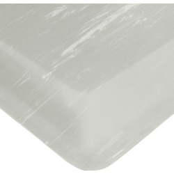 Wearwell Smart Tile Top UltraSoft Anti-Fatigue Mat, 2' x 3' x 7/8 Thick, Gray
