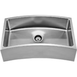 Whitehaus - Chefhaus Single Bowl Front-Apron Sink found on Bargain Bro Philippines from Kitchen Source for $1855.19