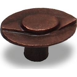 Premier Hardware Knob, Florence Collection, 1- inch W x 1-1/16 inch H, 7/8 inch proj., Oil Rubbed Bronze