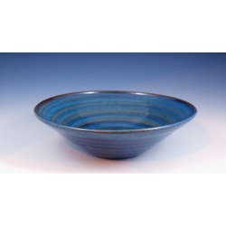Vermont Art Sinks Uptown Handthrown Stoneware Sink, 14inch W x 4inch H, Seaweed, Shown in Broken Blue found on Bargain Bro India from Kitchen Source for $520.15