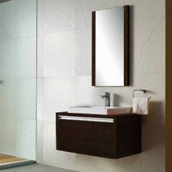 Vigo 32- inch Single Bathroom Vanity with Mirror, Wenge found on Bargain Bro India from Kitchen Source for $875.00