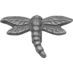 Belwith Keeler Knob, Dragonfly, Verdigris Antique Finish, 2-1/4 inch x 1-3/4 inch O.A