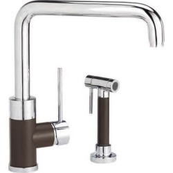 Blanco Purus I Kitchen Faucet with Spray, Biscotti Mix found on Bargain Bro India from Kitchen Source for $732.29
