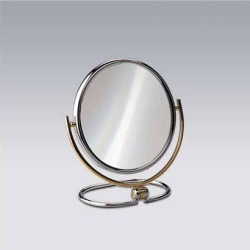 Nameeks Windisch Free Standing 5X Magnifying Mirror with Optical Grade Glass in Gold found on Bargain Bro India from Kitchen Source for $389.34