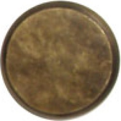 Nice solid brass knob, 1 inch diameter