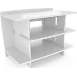 Kids Gaming Stand  White title=
