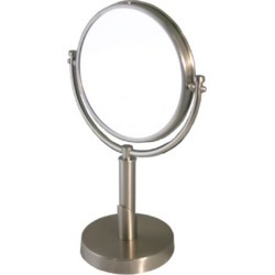Allied Brass Tribecca Table Mirror, 4x Magnification, Standard, Polished Brass found on Bargain Bro Philippines from Kitchen Source for $167.39