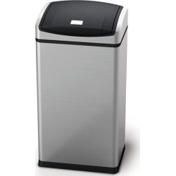 simplehuman<font size=2><SPAN style=letter-spacing:-0.25in> </span><sup>&REG;</sup></font> rectangular soft touch can, 12 gallon