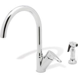 Blanco Neo Rados Kitchen Faucet w/metal side spray, Polished Chrome