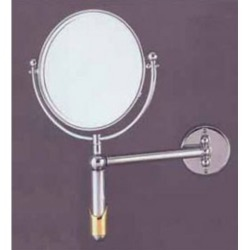 Allied Brass Soho 8 Extendable Wall Mirror, 3x Magnification, Premium, Antique Bronze found on Bargain Bro Philippines from Kitchen Source for $232.99