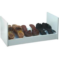 American Furnishings Stackable Shoe Rack,  24 W  x 12 D x 10  H, White