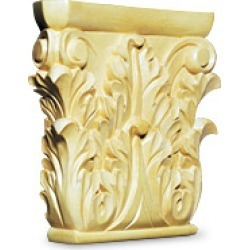 White River # CM2459, Medium Corinthian Capital, 8W x 1-3/4D x 8H, Maple found on Bargain Bro Philippines from Kitchen Source for $132.53