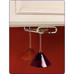 Rev-A-Shelf double bottle hanging wine rack, Oil Rubbed Bronze