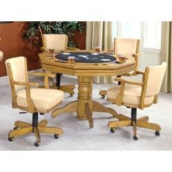 Hillsdale Furniture Classic Oak Game Table