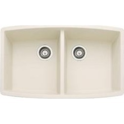 Blanco - Performa Series - Double Bowl Kitchen Sink, Biscuit found on Bargain Bro India from Kitchen Source for $576.66